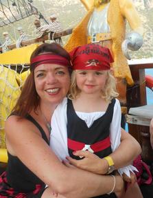 Beautiful pirate girls