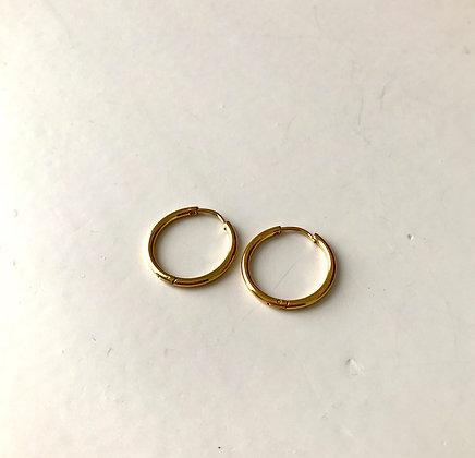 Boucles d'oreilles anneaux diamètre 1.5 cm