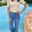 Thumbnail: Jeans taille haute boutonné