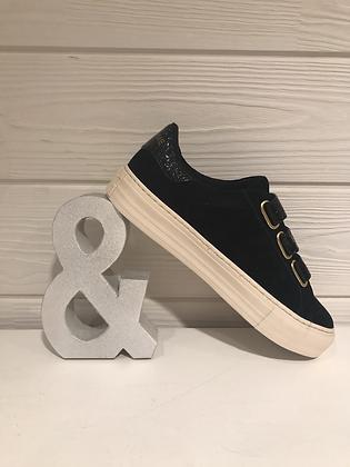 Sneakers suede black