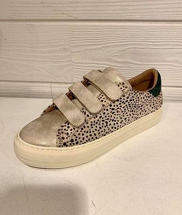 Sneakers gold motifs dalmatien