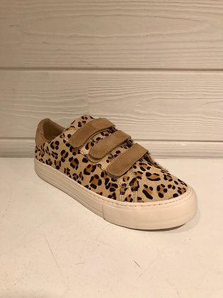 Sneakers léopard clair