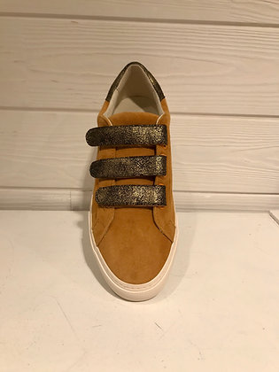 Sneakers moutarde