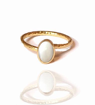 Bague opal