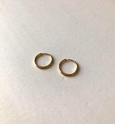 Boucles d'oreilles anneaux diamètre 1.3 cm
