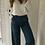 Thumbnail: Pantalon large bleu