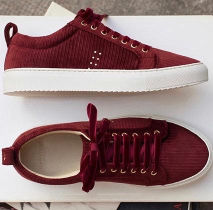 Sneakers suède bordeaux