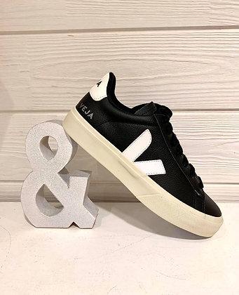 Veja semelle haute noir V Blanc