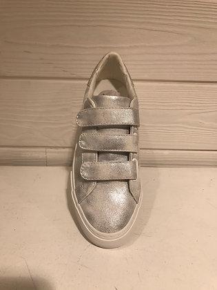 Sneakers silver scratch
