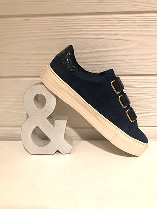 Sneakers suede navy