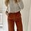 Thumbnail: Pantalon velours terracotta
