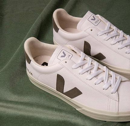 Veja semelle haute blanc V kaki
