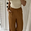 Thumbnail: Pantalon large terracotta