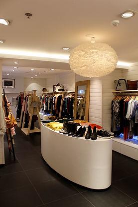 M and J Concept store Waterloo marques européennes et créateurs belges