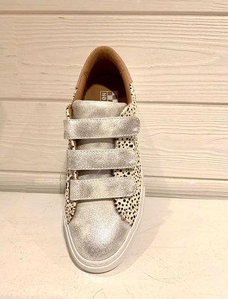 Sneakers silver motifs dalmatien