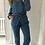 Thumbnail: Jeans taille haute ceinturé