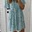 Thumbnail: Robe courte fleurie