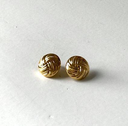 Boucles d'oreilles boutons