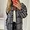 Thumbnail: Veste à petits carreaux