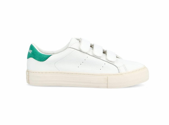 Sneakers white & mint