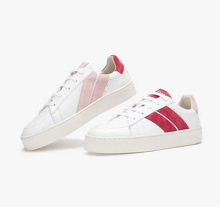 Sneakers pink cherry