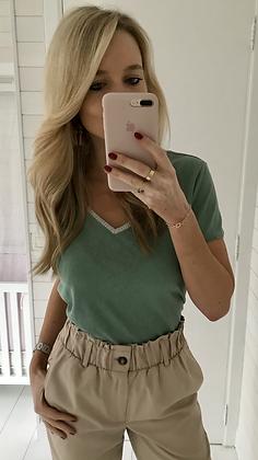 T-shirt vert