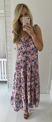 Robe fleurie longue