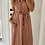 Thumbnail: Robe fluide col chemisier