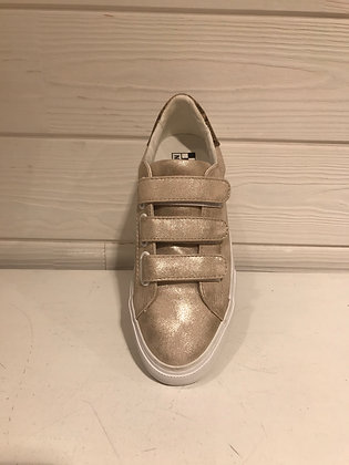 Sneakers champagne sablé