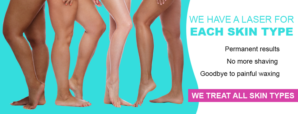 Laser hair removal for all skin types, no more waxing - The Laser Studio & Beauty Clinic