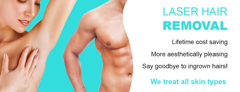 Laser Hair Removal - The Laser Clinic & Hair Removal