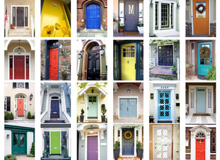 Create Dramatic Curb Appeal With A Door Color That Makes A Bold Statement