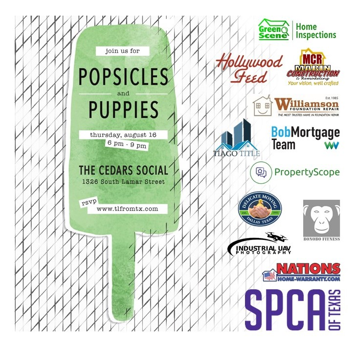 Popsicles & Puppies Square