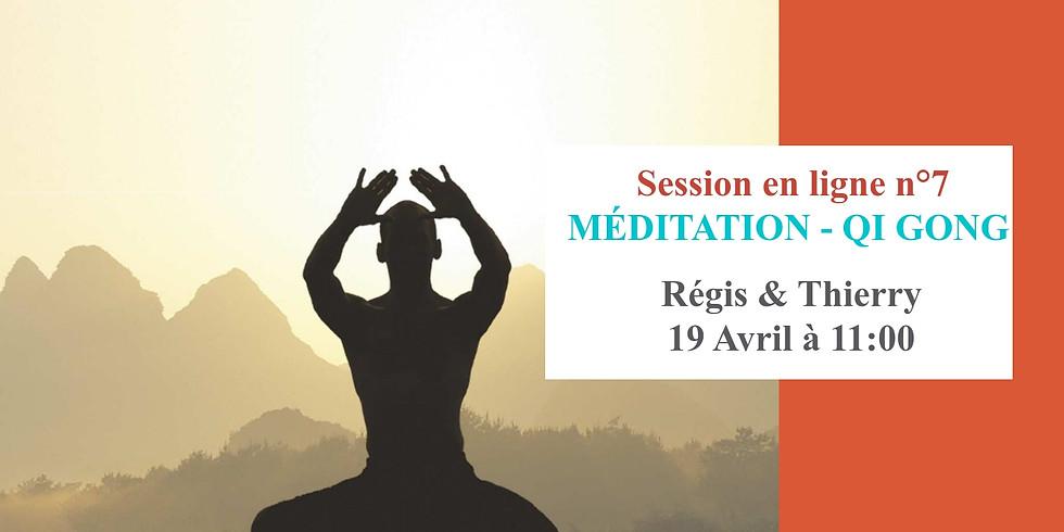 Webinar de Méditation et Qi-Gong