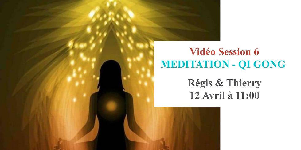 Méditation & Qi-Gong (en ligne)