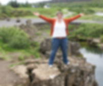 Me at Thingvellir National Park