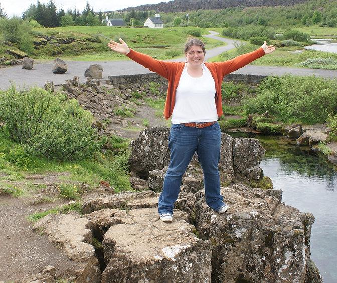 Me at Thingvellir National Park