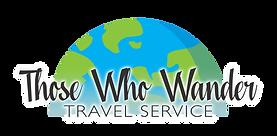 Those Who Wander Travel Service logo