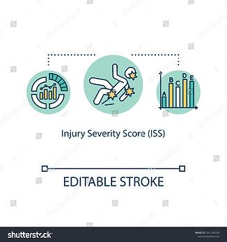 stock-vector-injury-severity-score-polyt