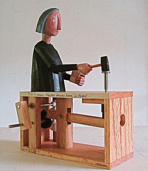 Automata作品「ニュートンの法則」