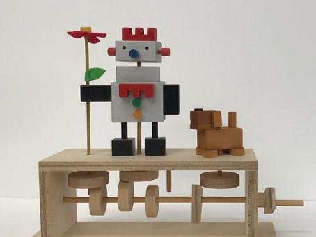 ふしぎなふしぎなオートマタ展Ⅱ 木製キットのご紹介