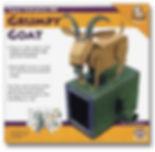 ペーパークラフト作品「頑固なヤギ」