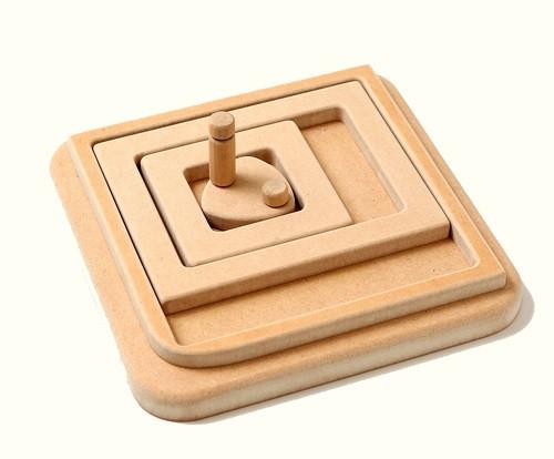 機構模型「正方形を描く4運動カム」