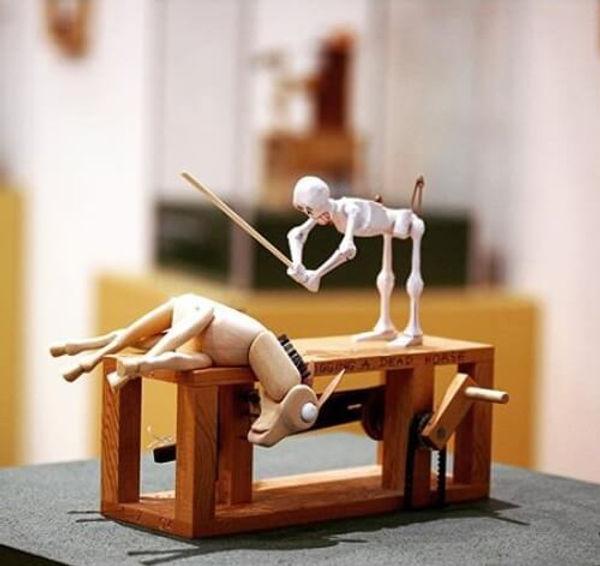 Automata作品「無駄な努力」