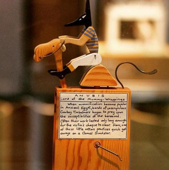 Automata作品「アヌビス駱駝に乗る」