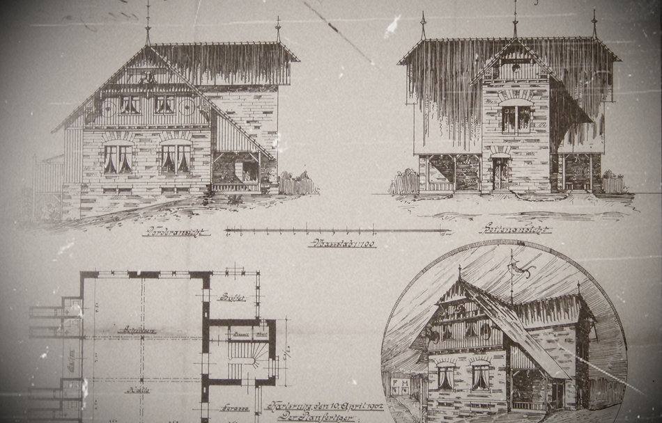 Das frühe Schützenhaus auf dem Turmberg