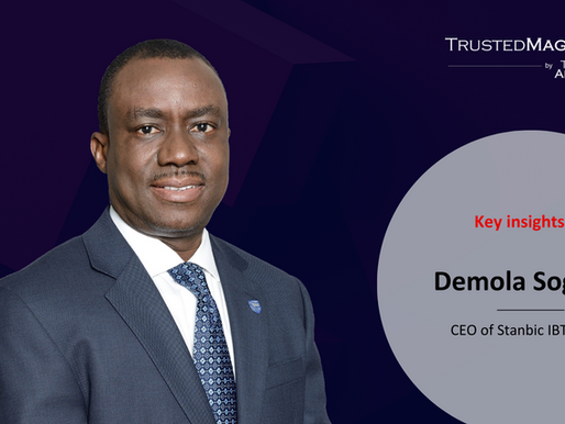 Q&A with Demola Sogunle, CEO of Stanbic IBTC Bank
