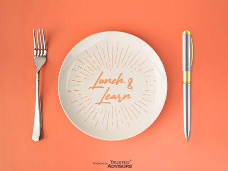 Lunch and Learn: (engaging events): key recommendations