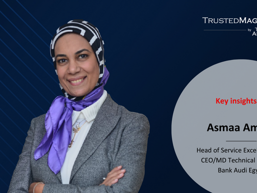 Q&A with Asmaa Amara, Head of Service Excellence and CEO/MD Technical Office