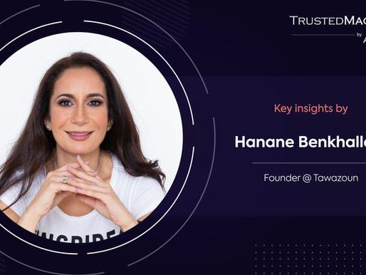 Q&A with Hanane Benkhallouk, Founder @ Tawazoun